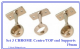 Set of 3 Wardrobe Tube/Pole/Rail end/Centre Sockets. 19mm/25mm from only £3.39p set